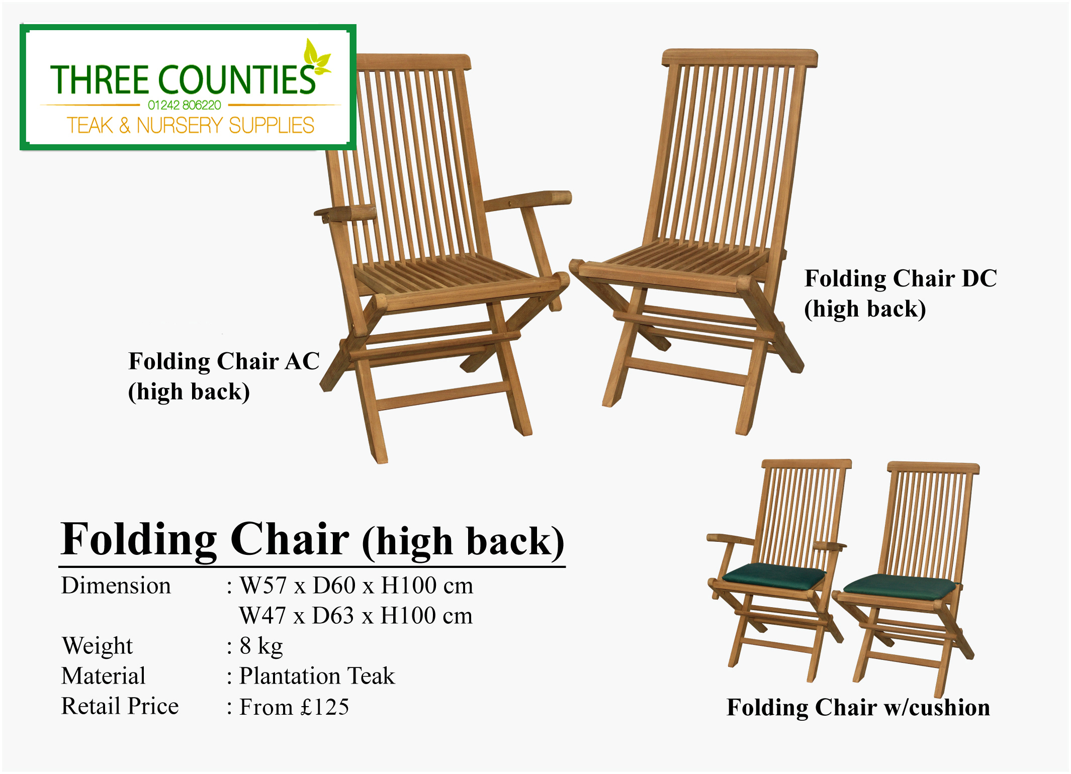 Three Counties Teak Chairs